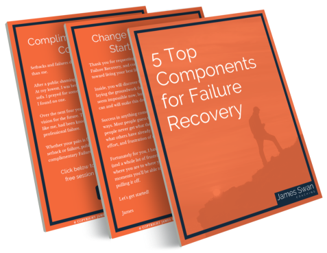 3d rendering of 5 Top Components for Failure Recovery